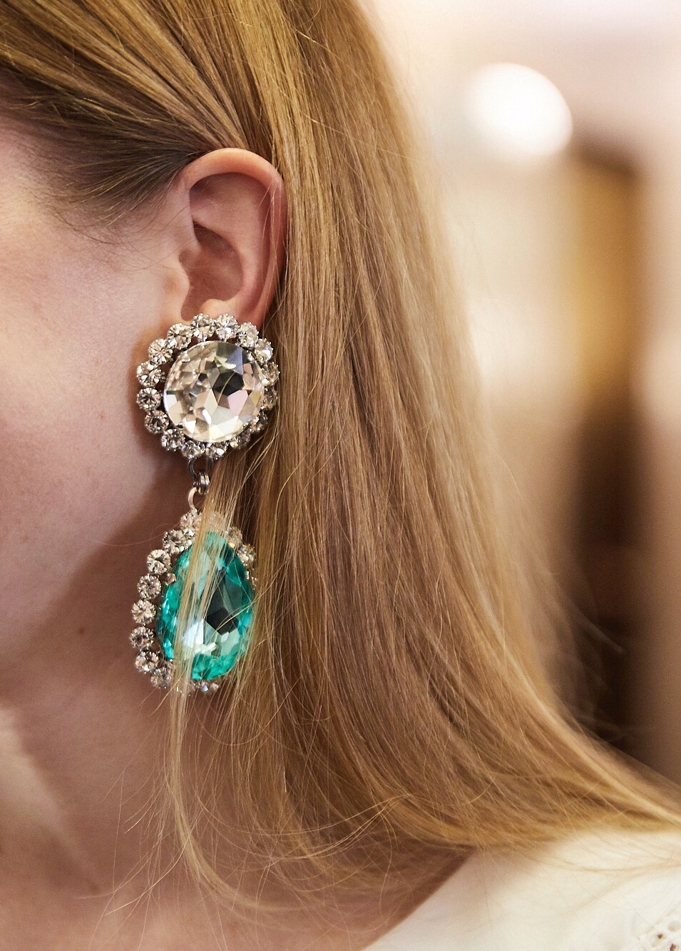 Earrings by Alessandra Rich.