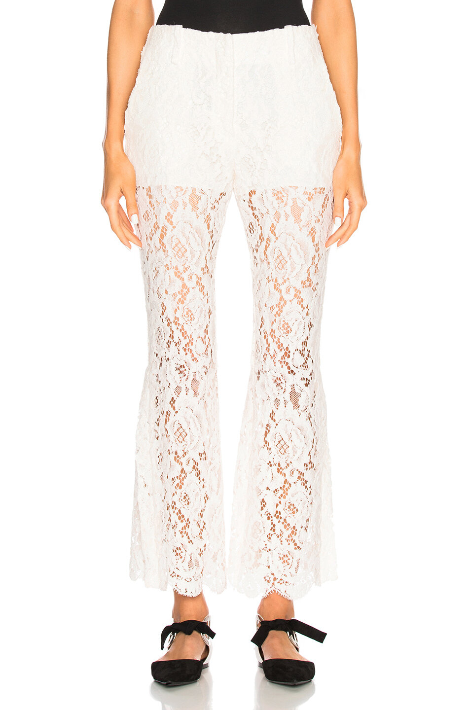 Proenza Schouler Lace Pants, shop similar  here ,  here ,  here  and  here .