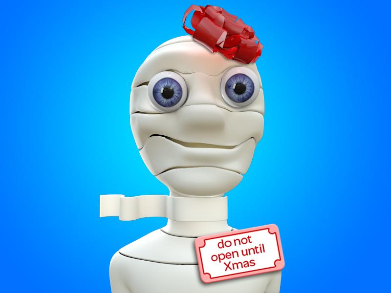 Christmas Mummy