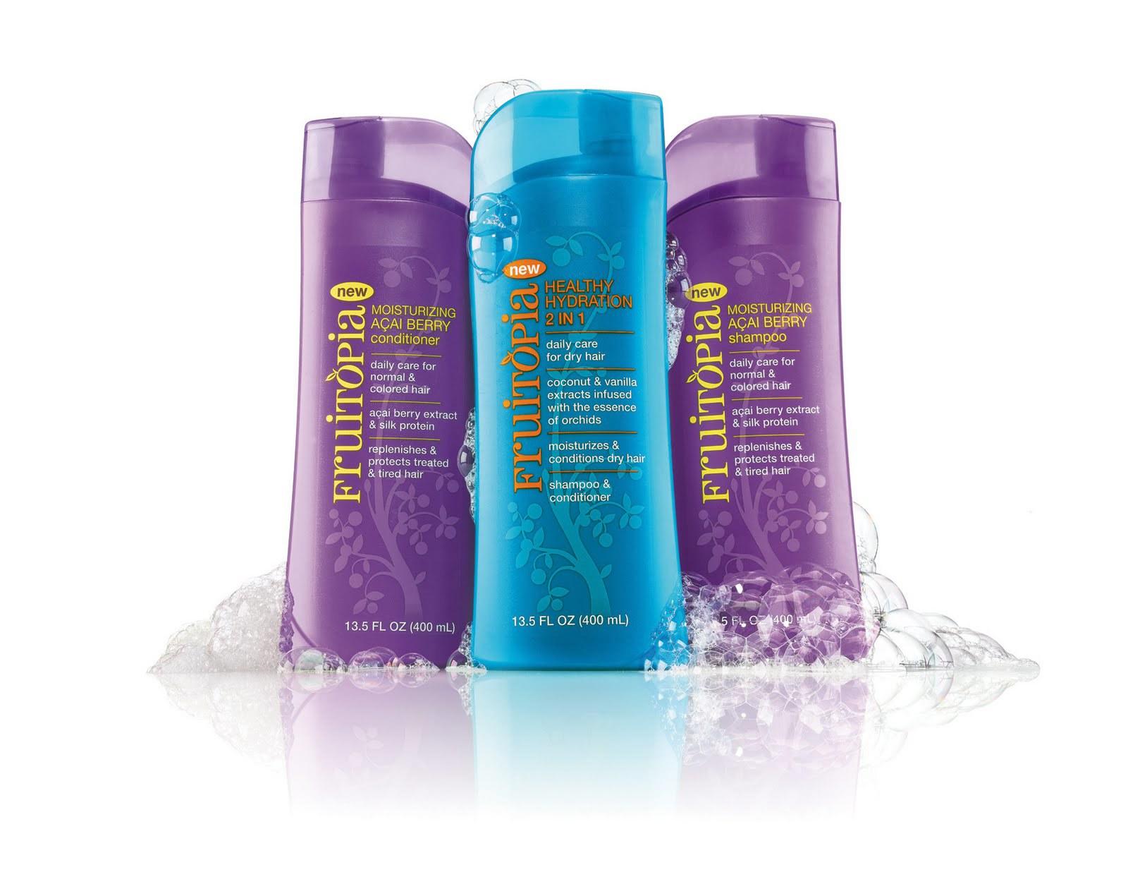 Fruitopia haircare brand developed for CVS/pharmacy.