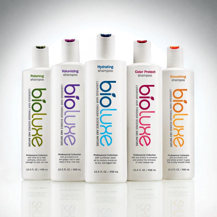 Bioluxe haircare brand developed for CVS/pharmacy.