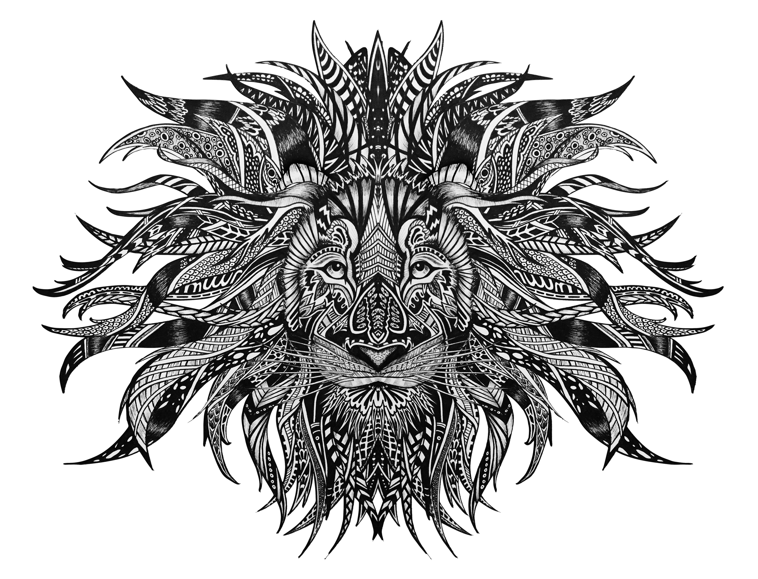 English Lion; Inspired by the Lake District and London Architecture