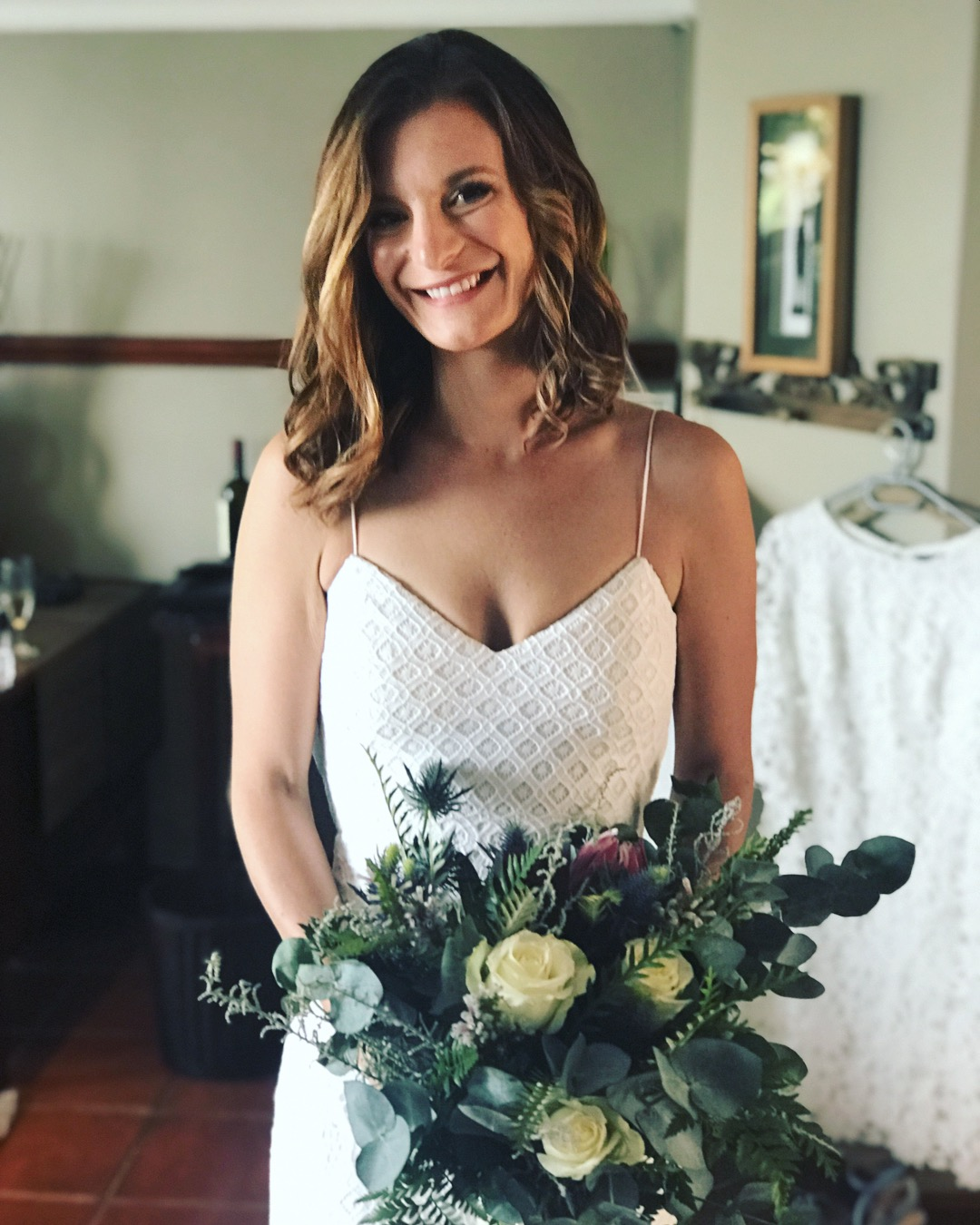 Beautiful bestie bride