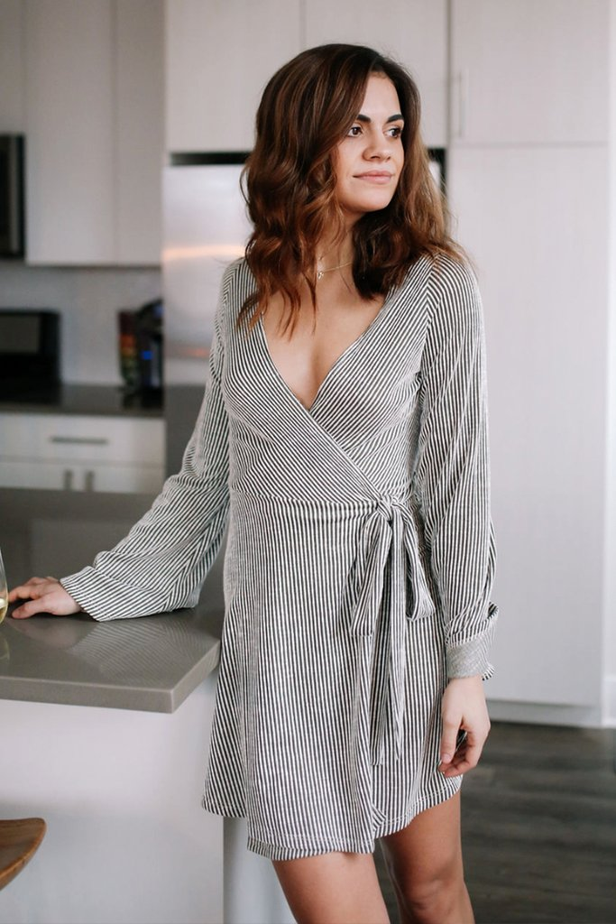 Still drooling over this wrap dress. (click to shop!) Photo from NOVAA