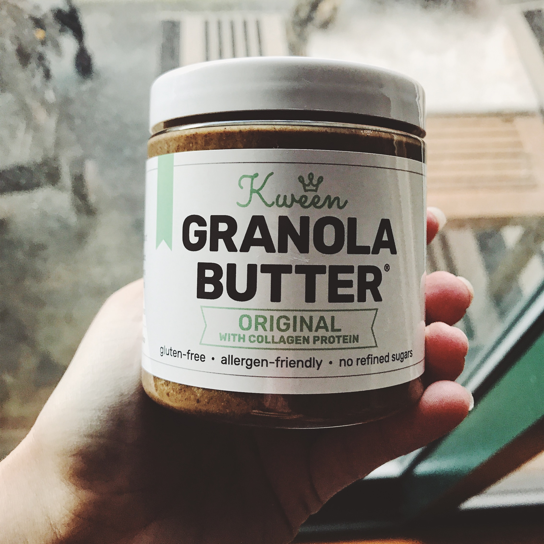 kween and co granola butter review