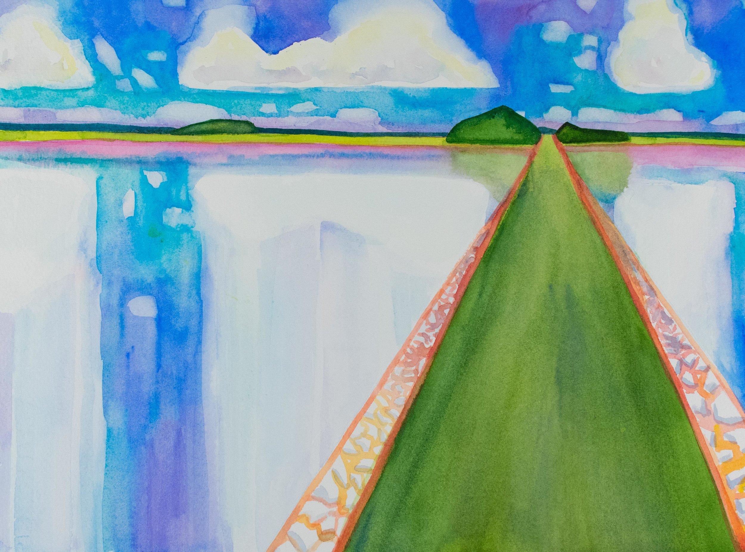 Bridge to Burton Island III