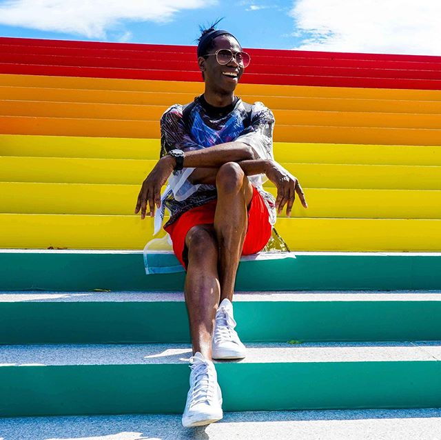 This weekend I got to shoot at @4freedomspark. Seeing so many #LGBTQ people from all walks of life reminded me of why I love my community and the triumphs we've made to get to where we are. Let's keep knocking down them walls! #Stonewall50