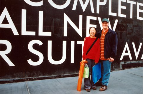 Andy and I visiting the Chagall art show at the San Francisco Museum of Art in 2003. Back in the day when we were art students and had so much free time!