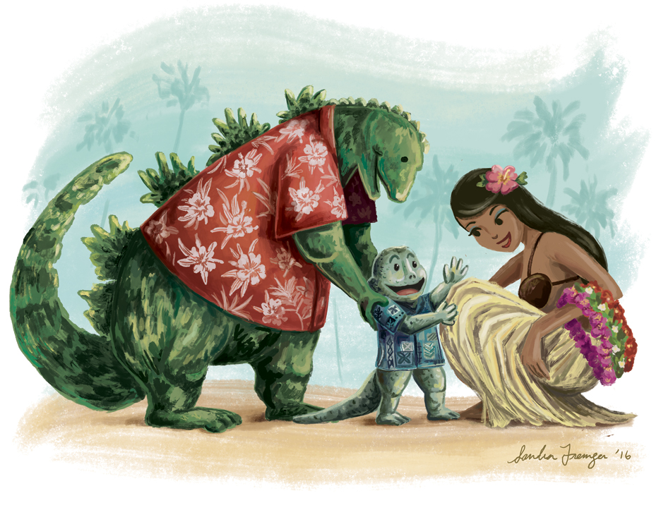 Godzilla-and-Son-by-Sandra-Fremgen.jpg