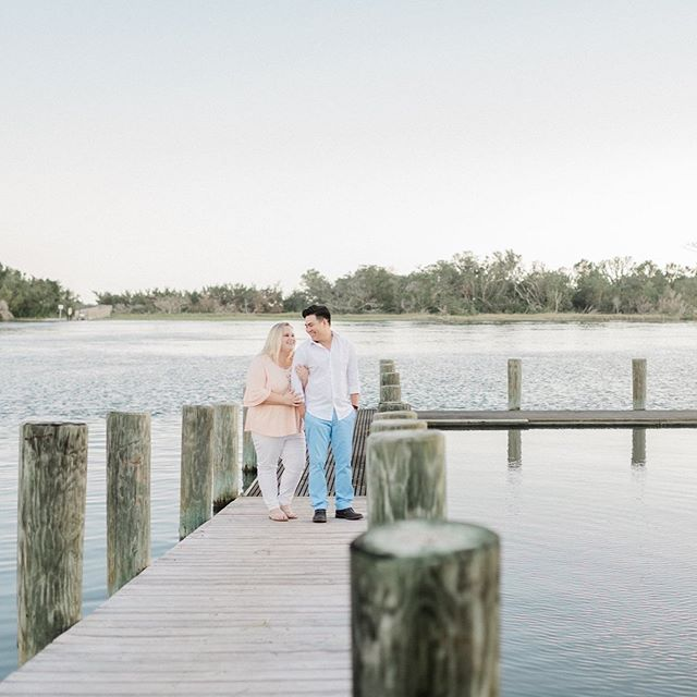 Bryan & Eric get married next May, and we're thrilled to be their photographers! We had so much fun meeting them this evening in Beaufort for their engagement session!
