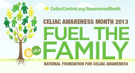 May 2013 National Celiac Disease Awareness Month