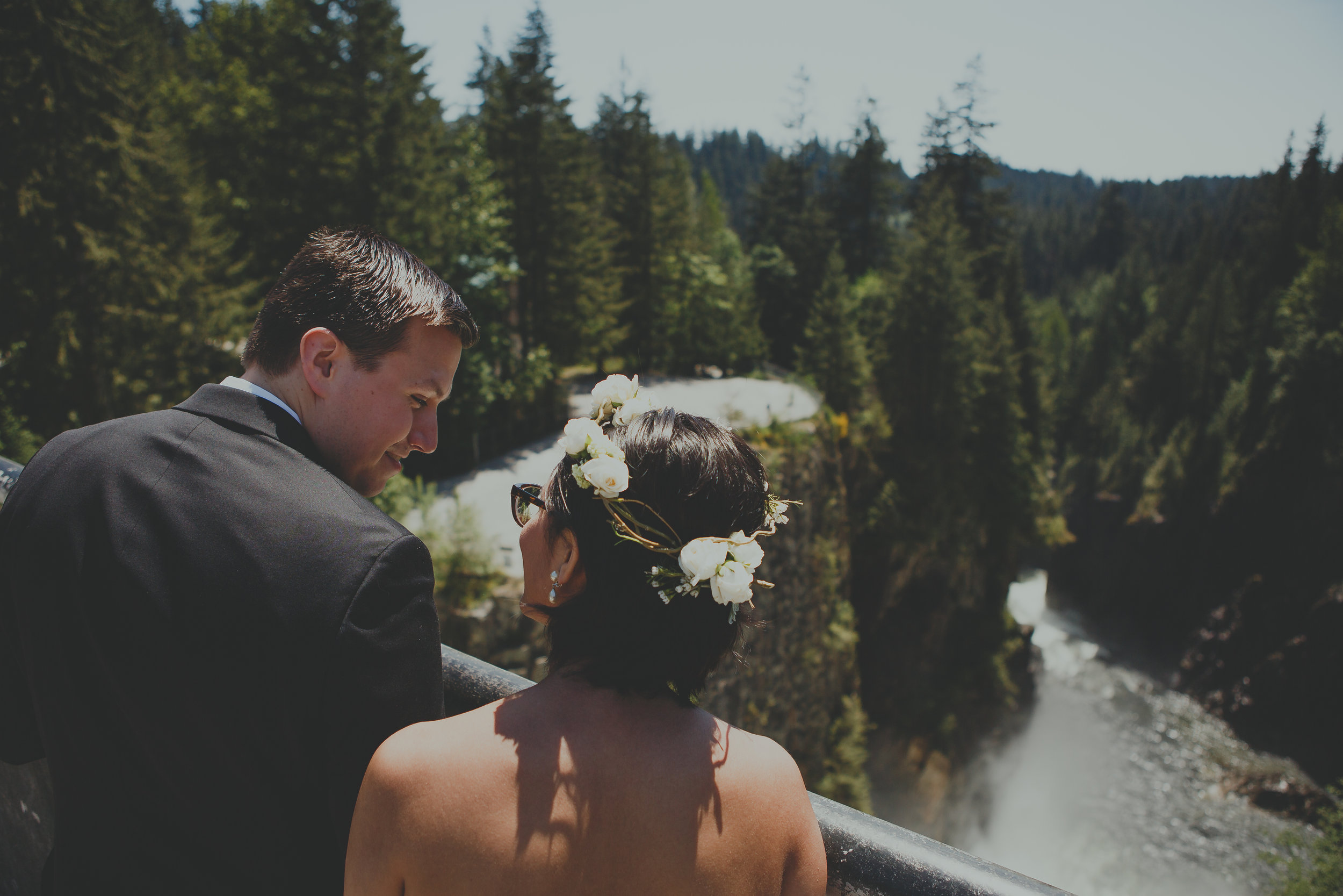 Cleveland Dam Wedding-Nadine Hansen Photography