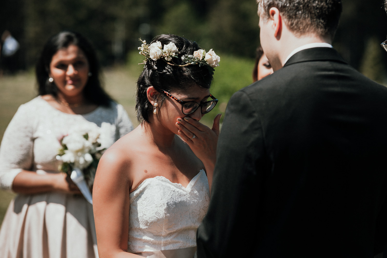 Intimate-North-Vancouver-Cleveland-Dam-Wedding
