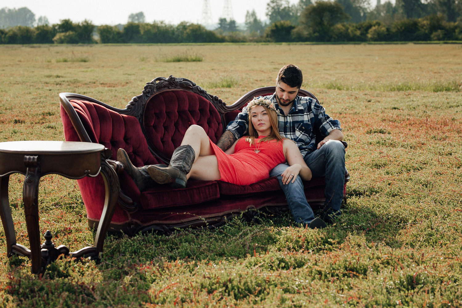 Hopcott-Farm-Pitt-Meadows-Rustic-Engagment-Shoot