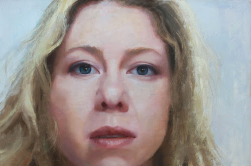 "Leah,   oil on canvas 28"" x 42"" (2013)"