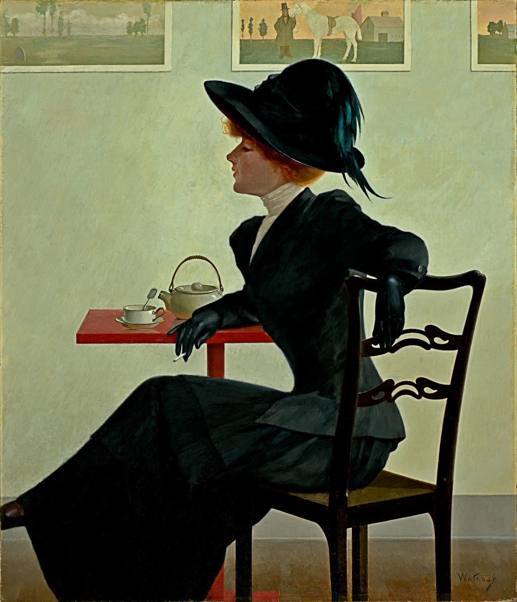 Sophisticationc. 1908 by Watrous, Harry Willson 1857-1940