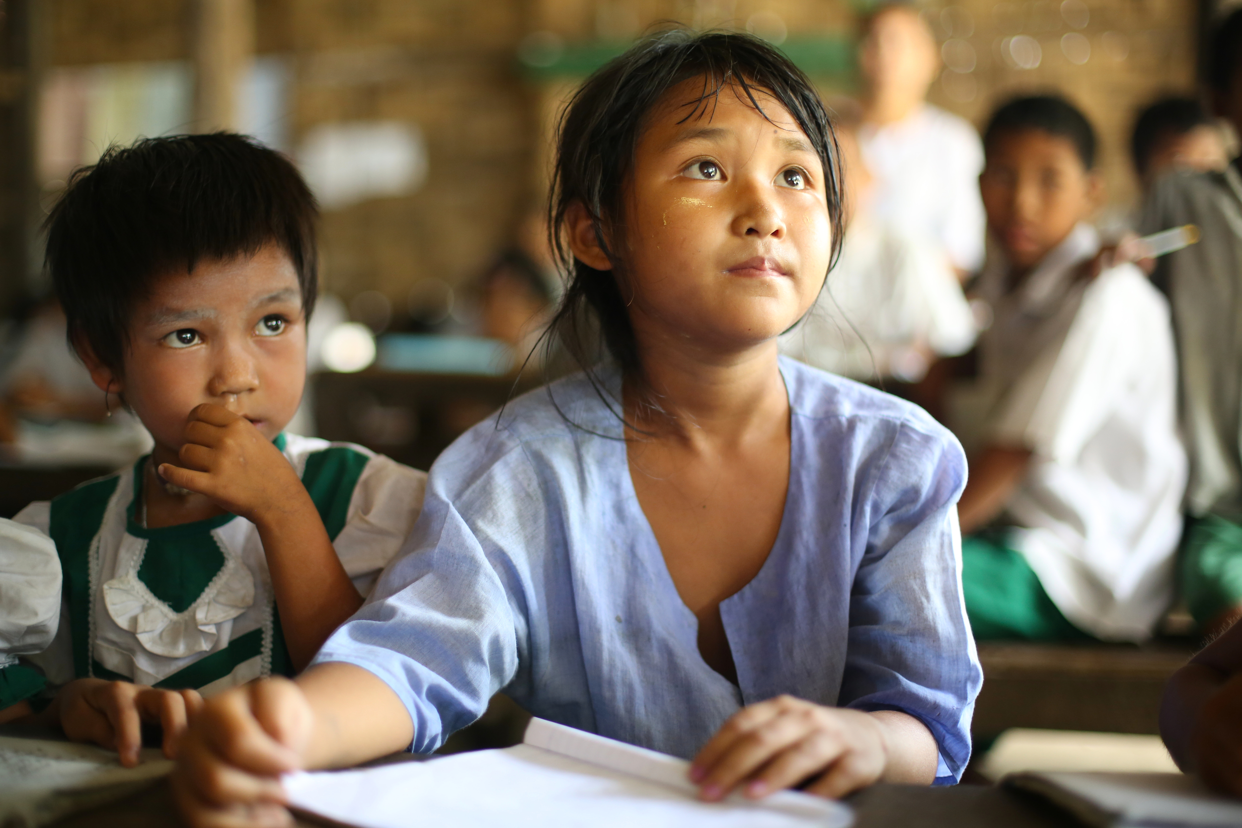 Access to education is still a struggle for thousands of girls in Myanmar