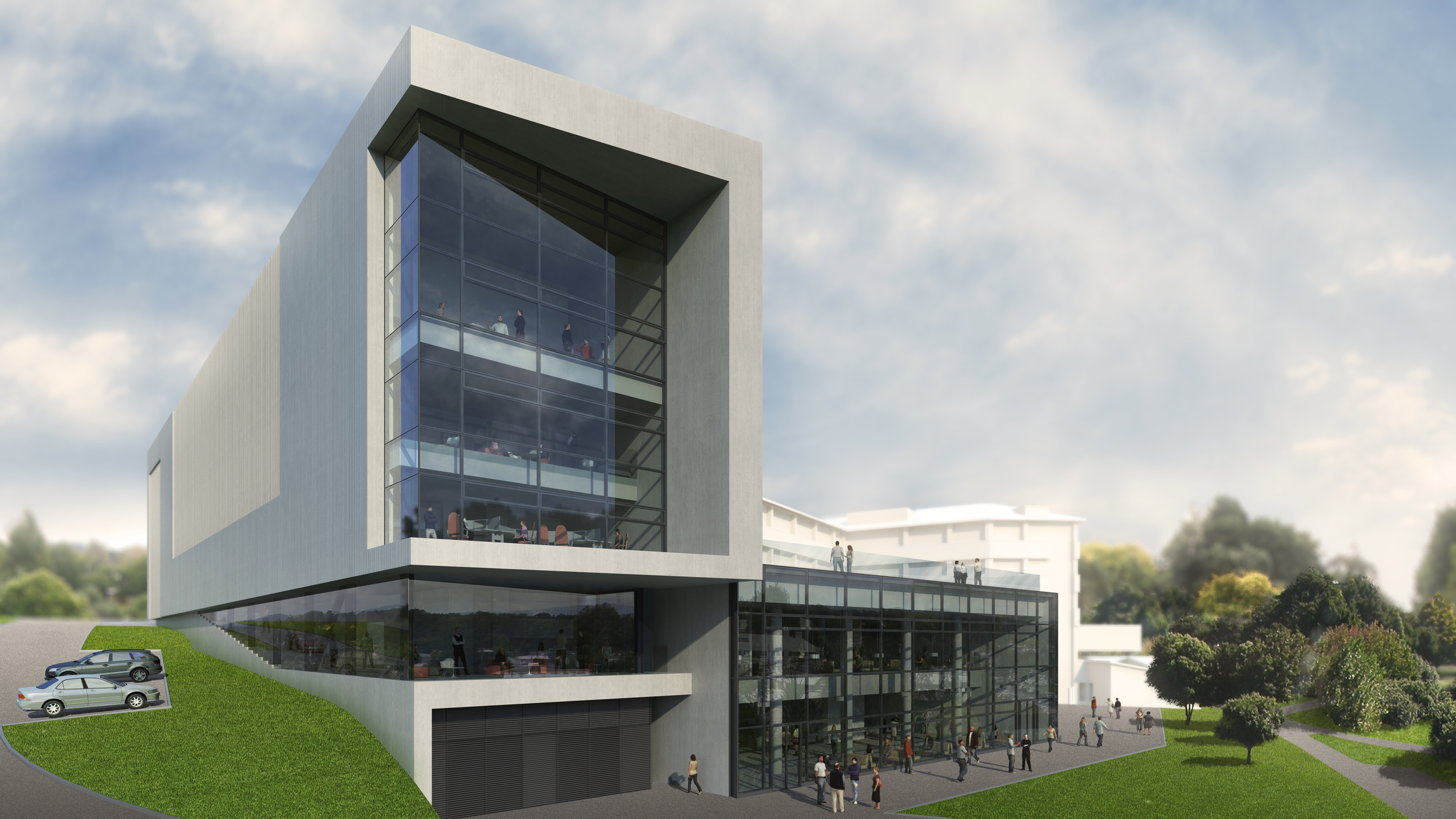 THE UNIVERSITY OF WAIKATO - LAW AND MANAGEMENT BUILDING