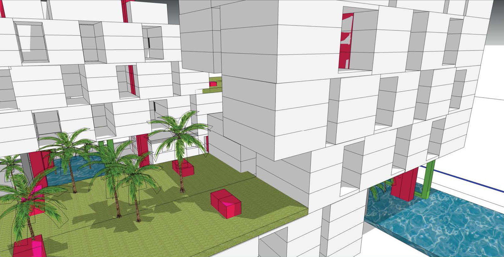 HIGH RISE RESIDENTIAL CONCEPT PROPOSAL