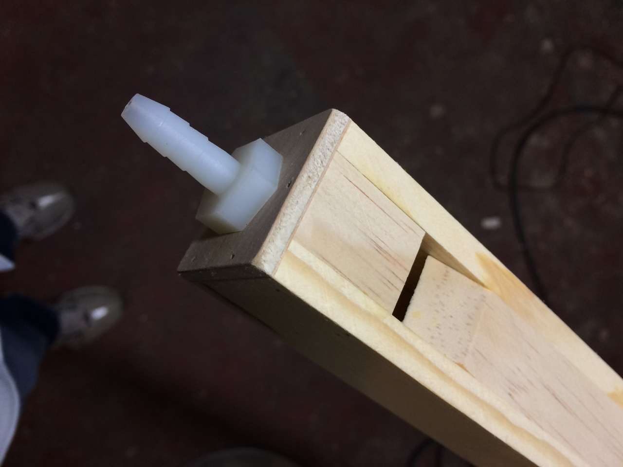 Flute when fully assembled