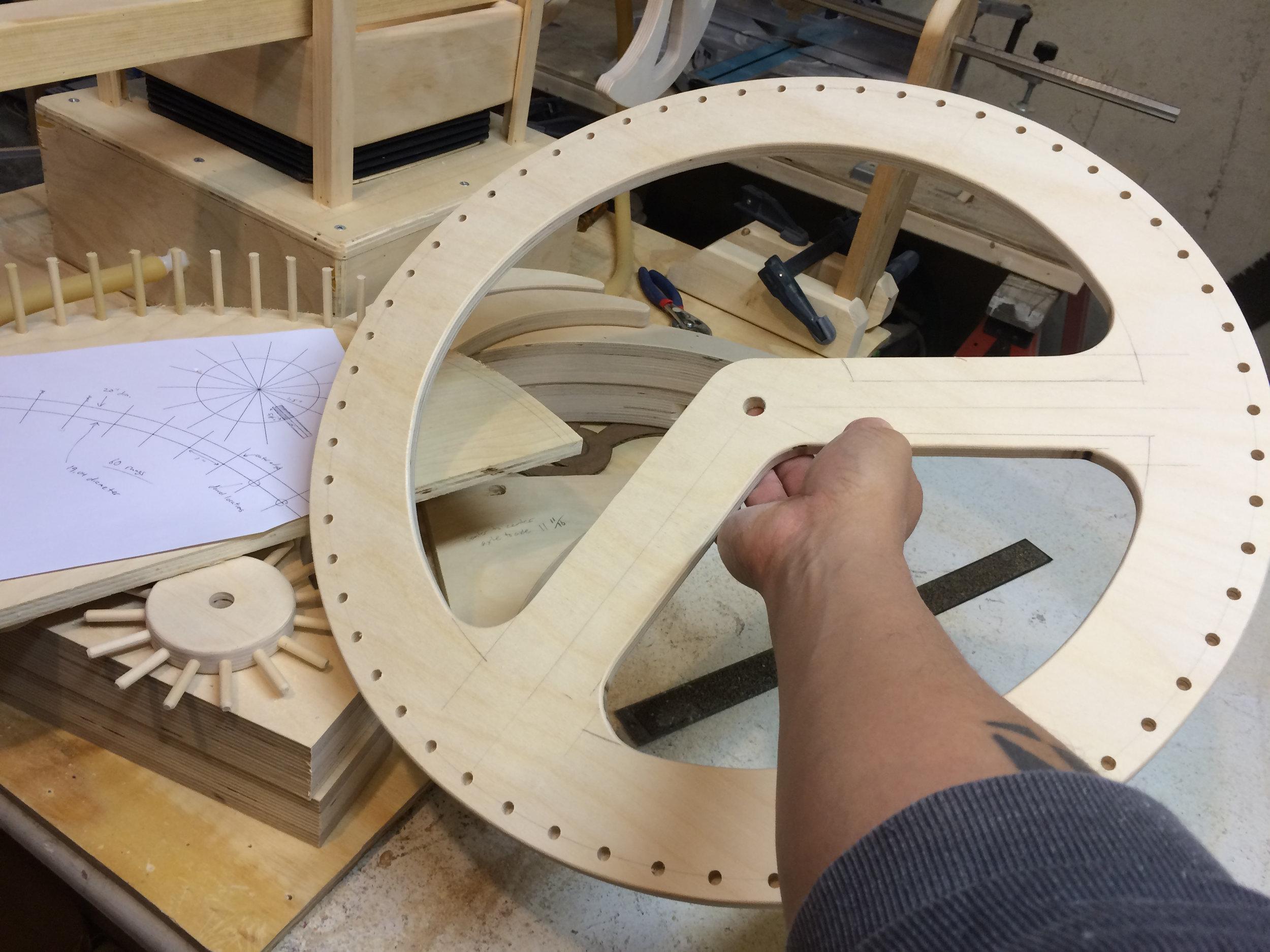 large lantern gear in progress