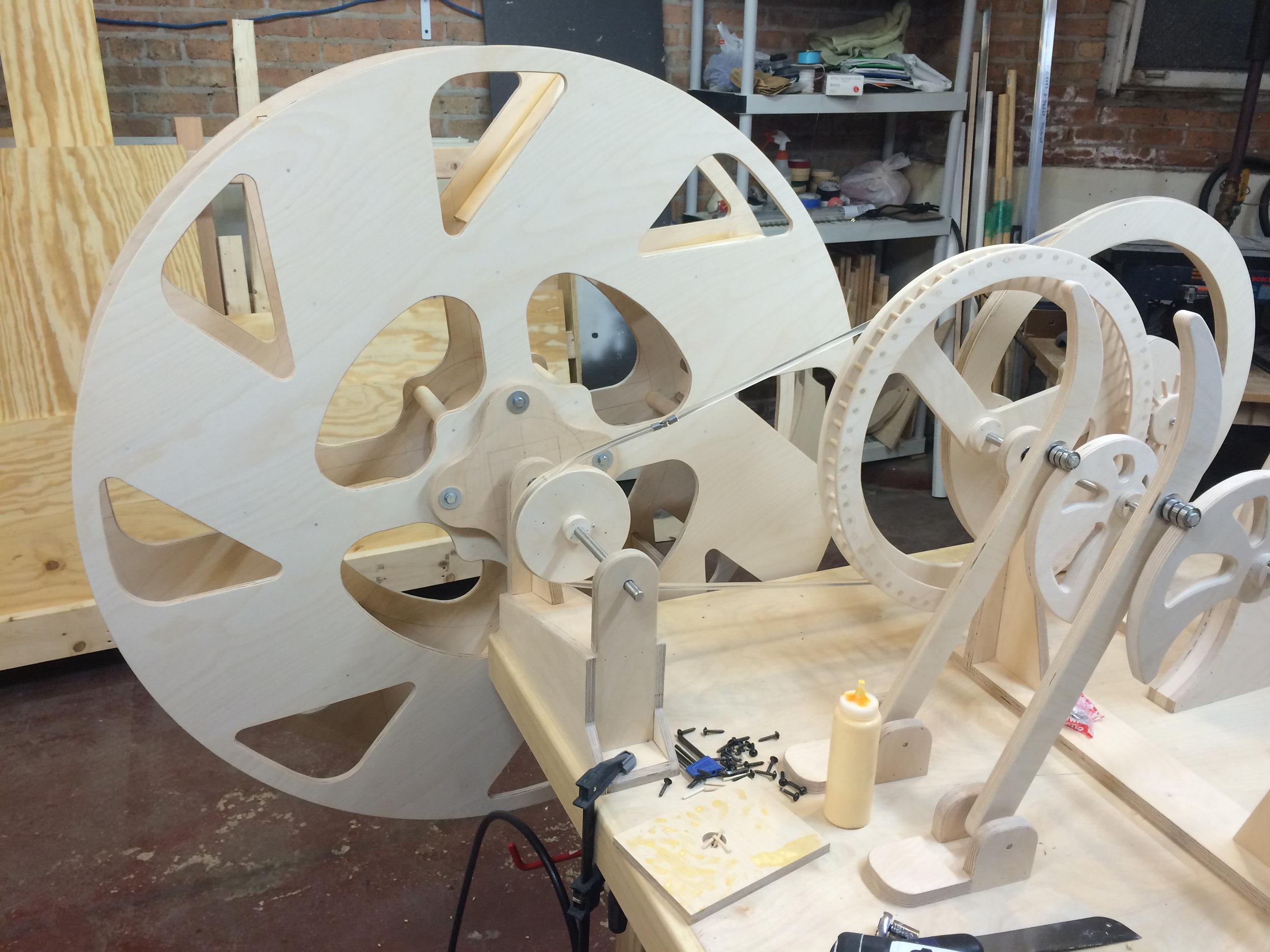 the waterwheel complete