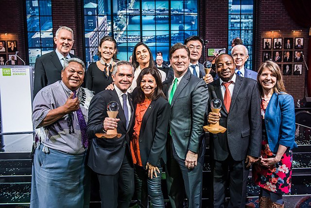 10 international cities leading the way on climate action received C40 Cities Awards on December 5th, 2017.
