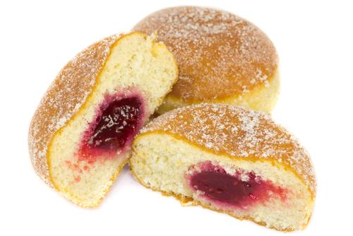 Gluten Free Sufganiyot (Jelly Doughnuts)