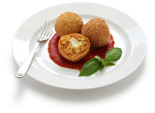 Gluten Free Fried Mozzarella Balls