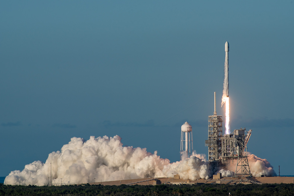 Third Time's a Charm: SpaceX's Launch of Intelsat 35e on July 5, 2017 (Courtesy of  SpaceX )