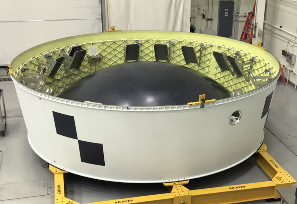 The SLS Orion Stage Adapter for CubeSats (Courtesy of  NASA )