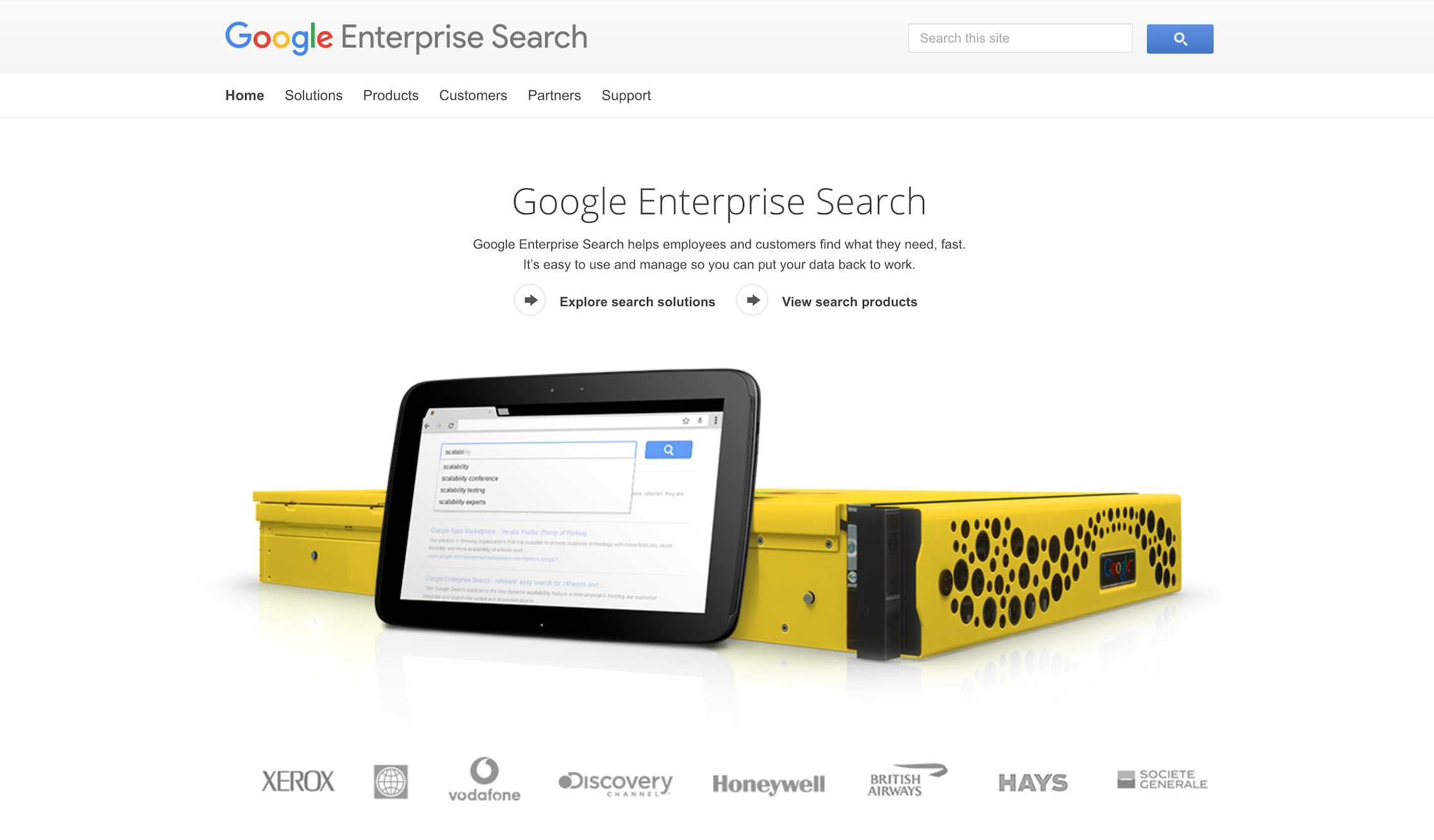 Google Enterprise Search