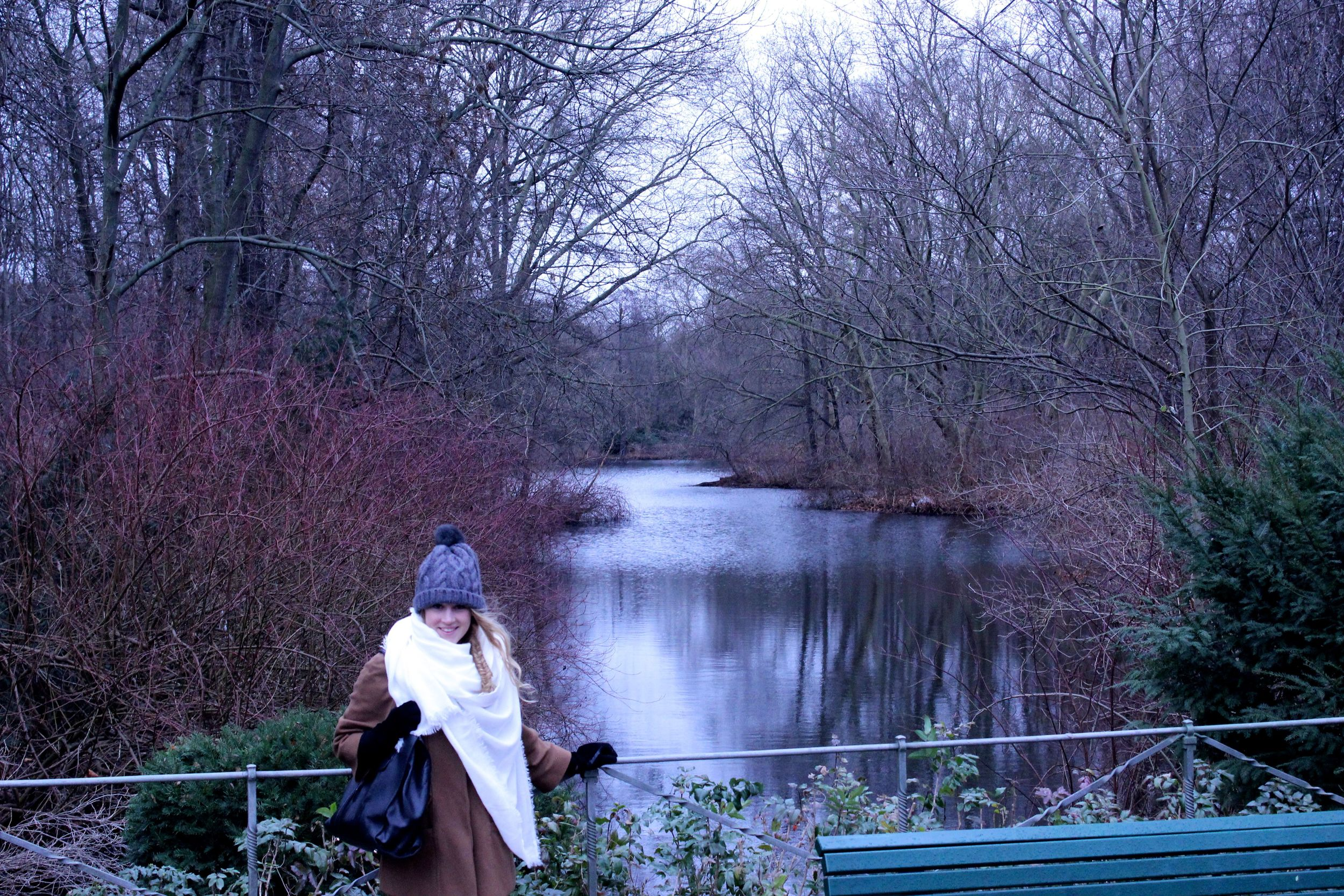 A cloudy day wandering the Tiergarten