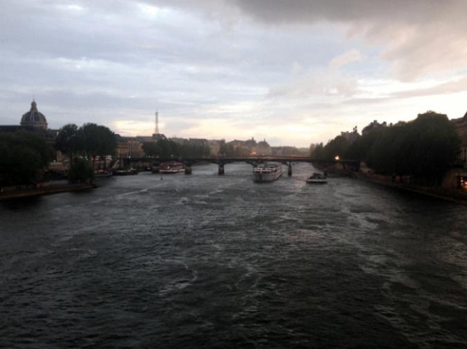 SunsetontheSeine