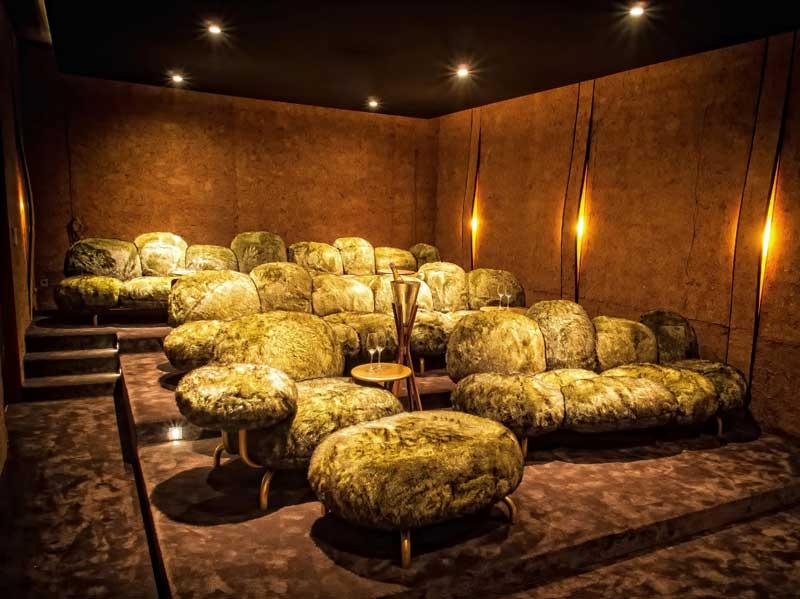Private Designer Cinema in Large Phuket Villa