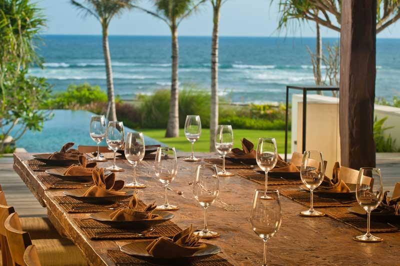 Bali Designer Villa, Family Dining