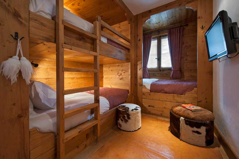 Cosy Bunkbeds in the Swiss Alps, Verbier