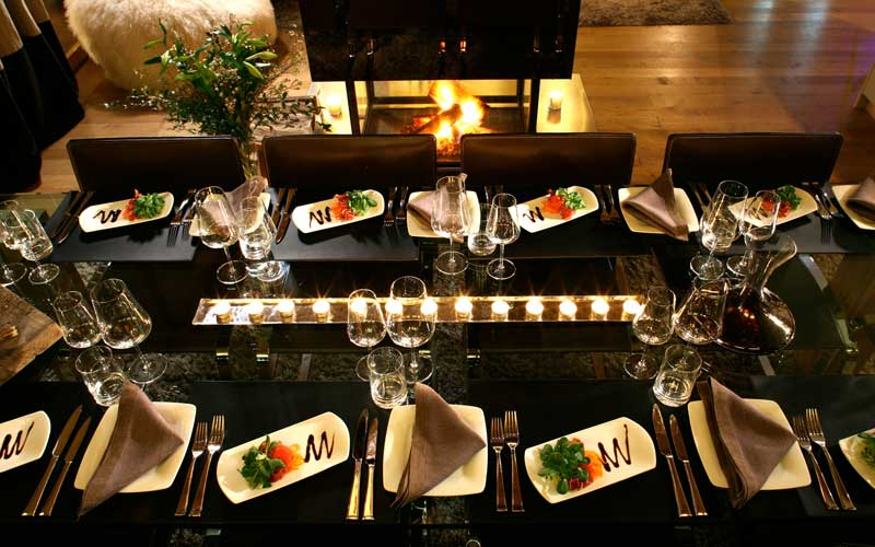 Dining in style surrounded by family, Alpine Chalet