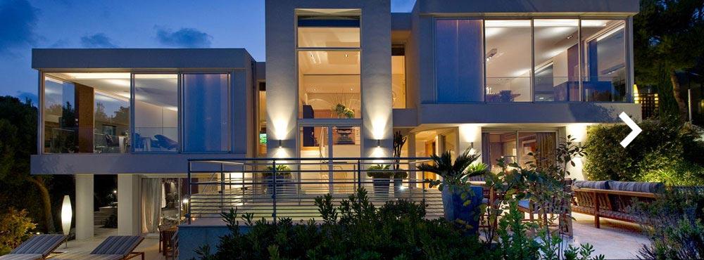 Villa C-View , St. Jean Cap-Ferrat, Côte d'Azur, France  Sleeps 14, 1 Master Suite & 6 Guest Suites, Private Outdoor Pool, Ocean Views, Spectacular hilltop setting   View Villa