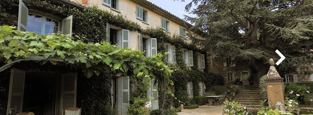 Le Preverger  , Le Garde Freinet,Côte d'Azur, France  Sleeps 10-28 guests, 15 bedrooms, Private Estate, Private Outdoor Pool, Tennis Court, Helipad    View Villa