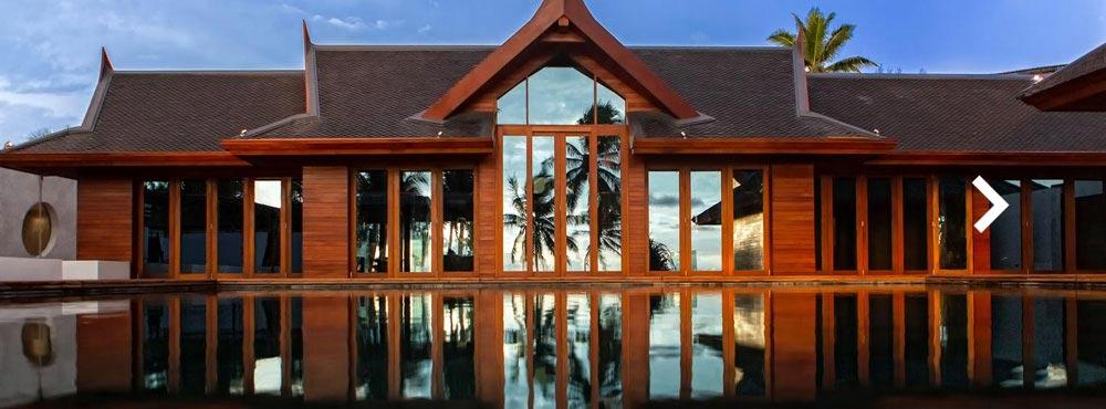 Iniala Beach House Residence  , Natai Beach, Phuket, Thailand  Sleeps 20, 3 Villas & Penthouse Suite, 10 Bedrooms, Dedicated Kids Hotel, Beachfront, Gourmet Restaurant On-site, Design Masterpiece    View Residence