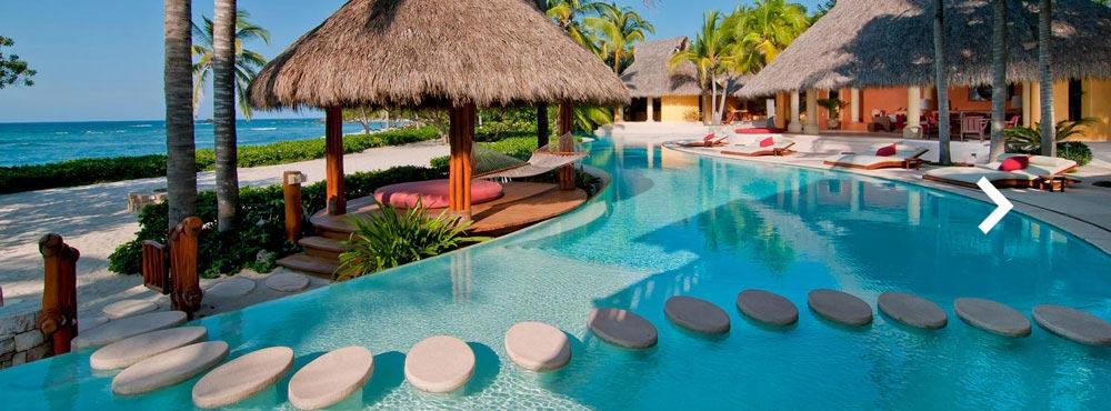 Palmasola  , Punta Mita, Mexico  Sleeps 18+, 9 Suites, Private Infinity Pool, Oceanfront, Golf    View Villa