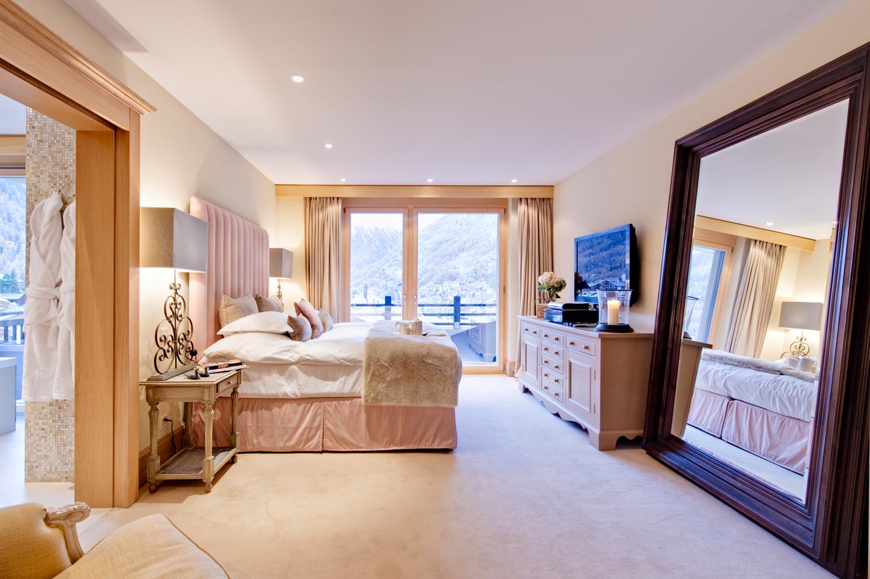 Chalet Grace Zermatt Chalet Rental Bedroom