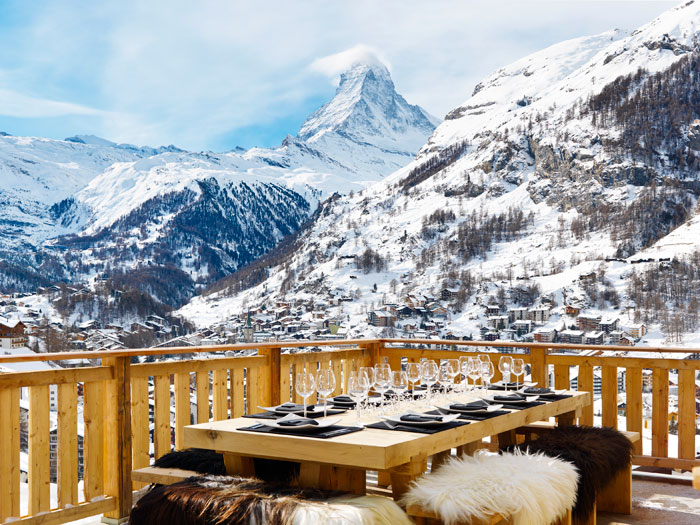 Luxury chalet les anges zermatt rental
