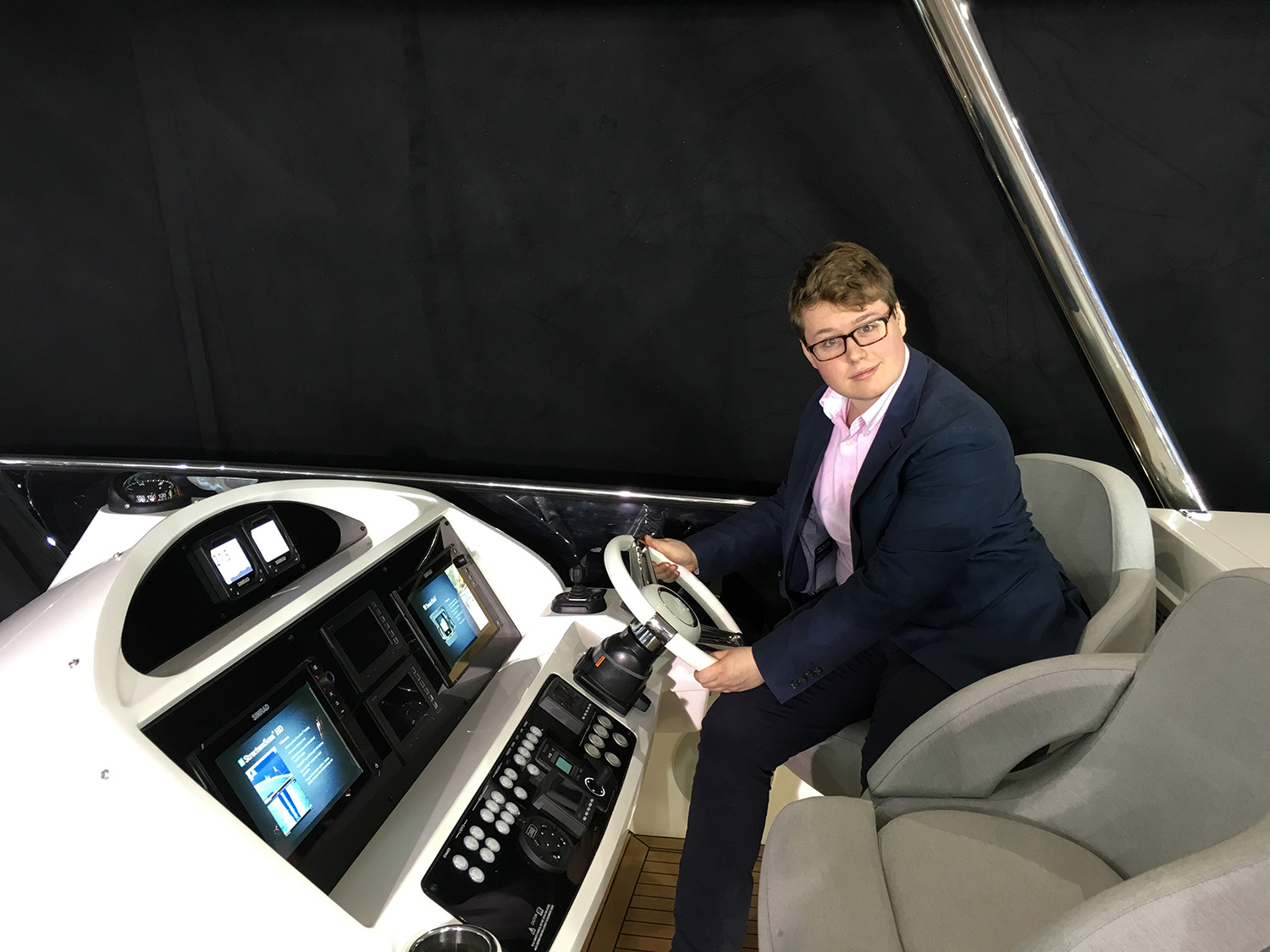 Sacha Gauthier, Art de Vivre at London Boat Show 2016