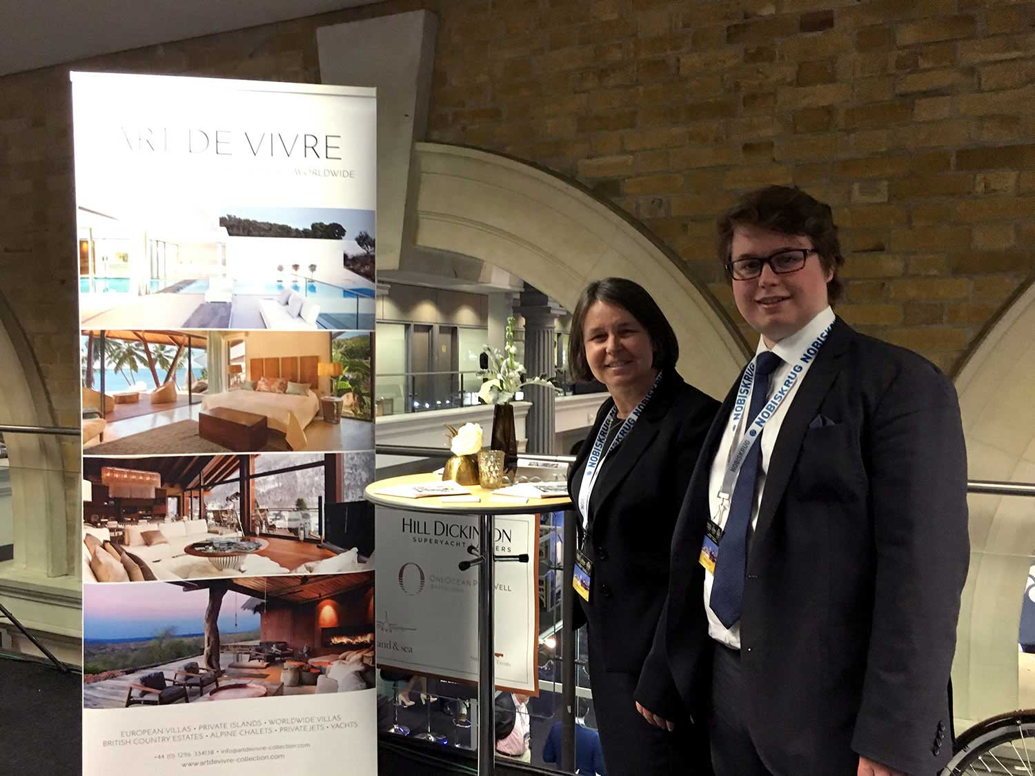 Julie and Sacha Gauthier welcoming partners and new faces to  Art de Vivre 's new properties and services