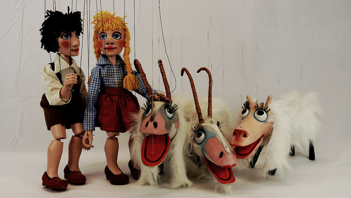 Sound of Music inspired marionettes