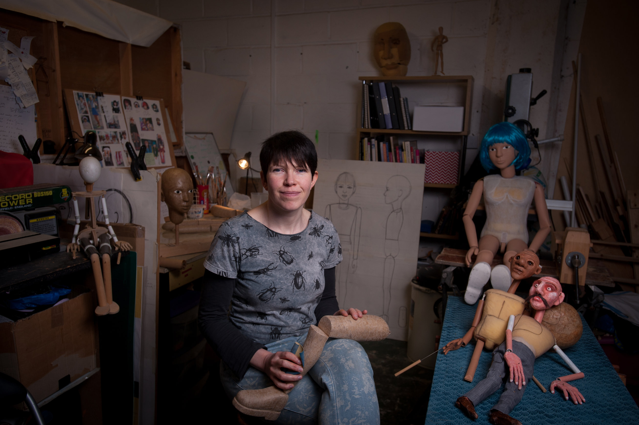 Catherine, The Puppet Maker