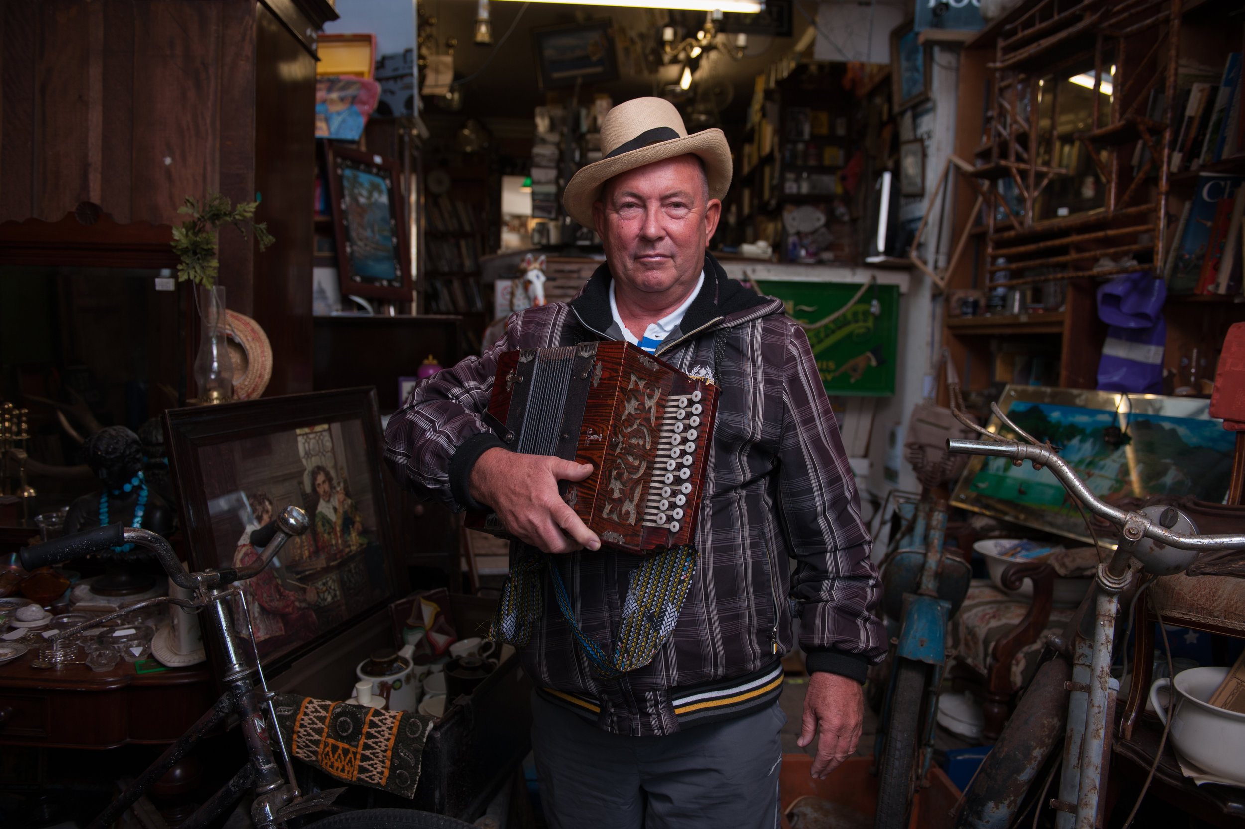 Ian, The Antique Seller
