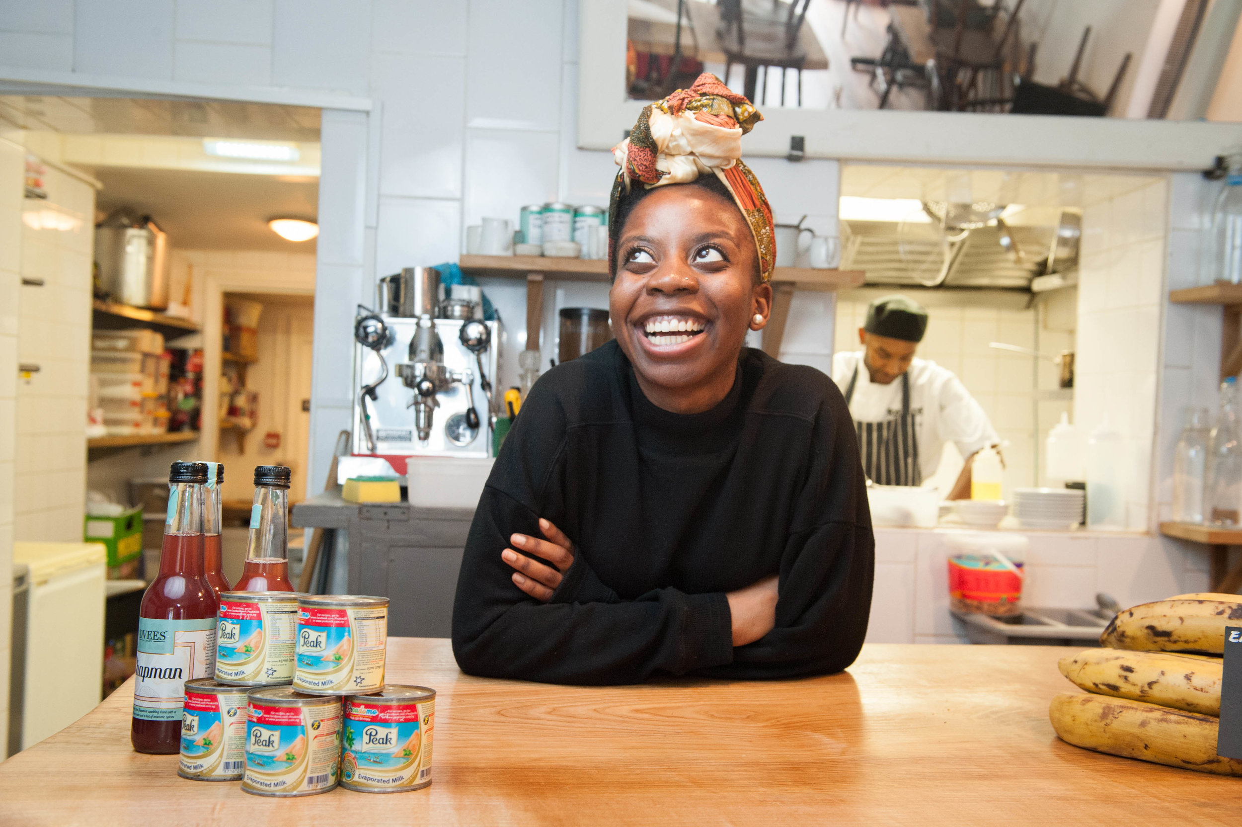 Ifeyinwa Frederick - Co-founder of 'Chukus' pop-up Nigerian Tapas restaurant in Hackney, London